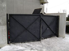 Dumpster Gate Repair