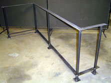 Round Tube Custom Hand Rail