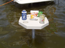 Boating Table Fully Stocked