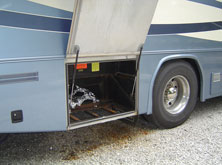 Motor Coach Battery Tray Repair