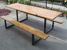 Custom Pine Picnic Table