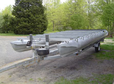 Aluminum Pontoon Repair