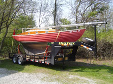 Sailboat Trailer Repair Belleville Michigan