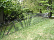 Ornametal Wrought Iron Fence Repair AnnArbor Michigan